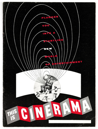 Promotional booklet for 'This Is Cinerama', 1952.