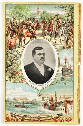 Advertising brochure for Poole's Myriorama, c 1901.