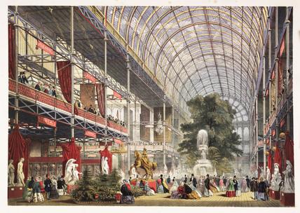 'The Transept', 1851.
