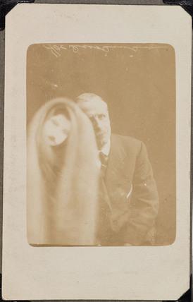 Elderly man with 'spirit', 5 April, 1920.