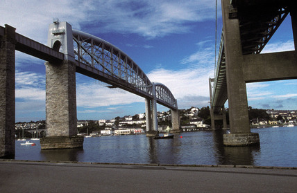 Saltash Bridge, 1996.