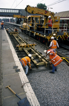 Track laying, 1998.