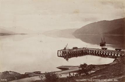 Loch Carron, Highlands of Scotland, 13 August 1876.