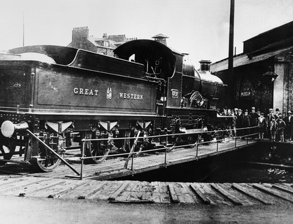 'City of Truro' locomotive, c 1925.