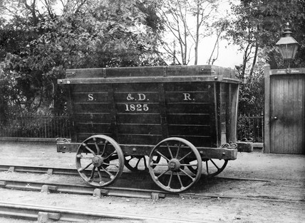 Stockton & Darlington Railway wagon, 1875.
