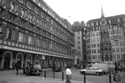 Charing Cross station, London, 1990.