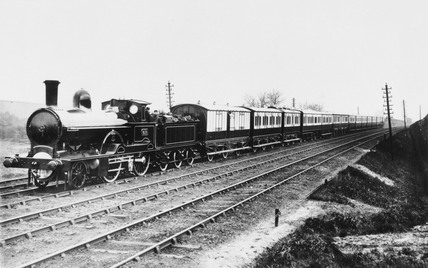 Royal train, c 1900.