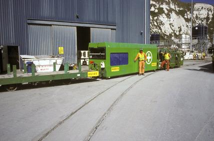 First aid train, 1993.