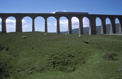 Ribblehead Viaduct, 1994.