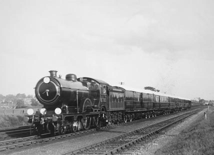 LNER Royal Train at Potters Bar, Hertfordshire, c 1940s.