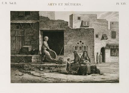 Knife-grinder, Egypt, c 1798.