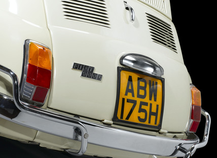 Fiat 500 car, 1970.