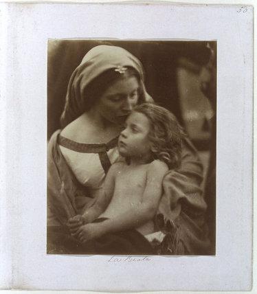 'La Beata', 1865.