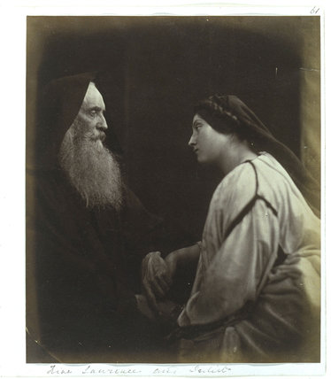 'Friar Laurence and Juliet', 1864.
