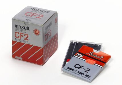 Compact floppy discs.