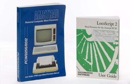Word processor manuals, c 1980s.