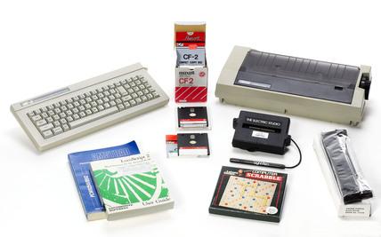 Computer equipment, 1980s.