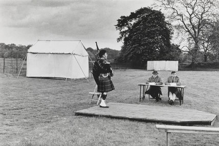 Highland Gathering, Richmond upon Thames, 1968.