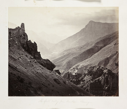 The Spiti Valley, Indian Himalayas, c 1865.