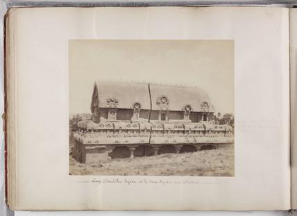 Stone building, Madras, India, c 1865.