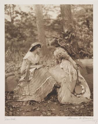 'Scandal', c 1910.