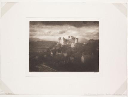 'Harlech Castle',  c 1907.