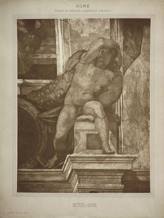 'Michel-Ange', c 1865.