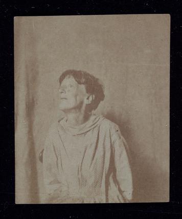 Portrait of a patient, Surrey County Asylum, 1855.