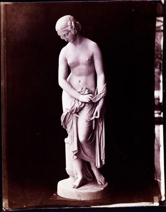 Statue of semi-draped female, 'The Great Exhibition', c 1852.