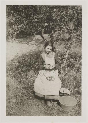'A Spring Idyl', 1887.