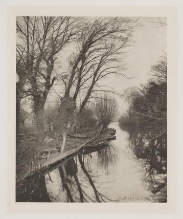 'Crusoe's Island, River Granta', 1887.