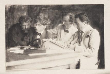 'Frank Eugene, Alfred Stieglitz...', 1907.