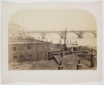 'Waterloo Bridge', c 1854.
