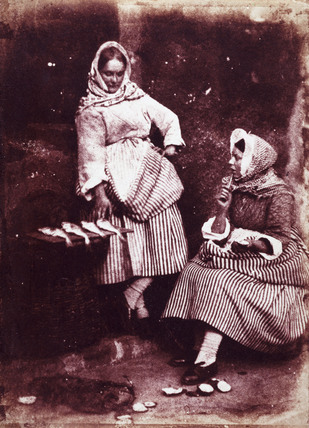 'Fishwives', c 1845.