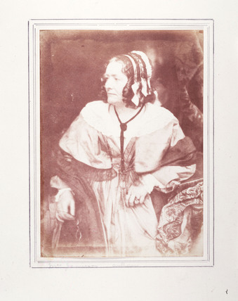 'Anna Brownell Jameson', Irish author, c 1845.