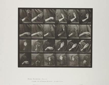 Hand movements, 1887.