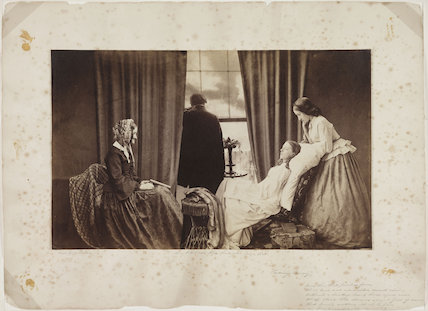 'Fading Away', 1858.