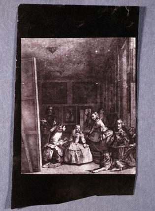 Goya after VelAzquez, 'Las Meninas', 1847.