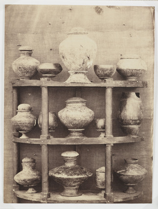 Ancient pottery, Madras Exhibition, 1857.