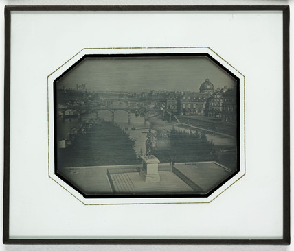 Panoramic view of Paris from the Pont Neuf, c 1838.