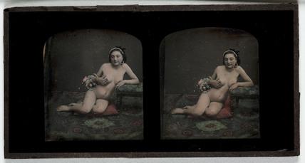 Nude, c 1855.