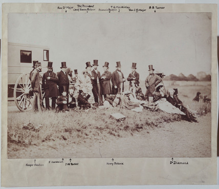 Members of the Photographic Society, 1856.