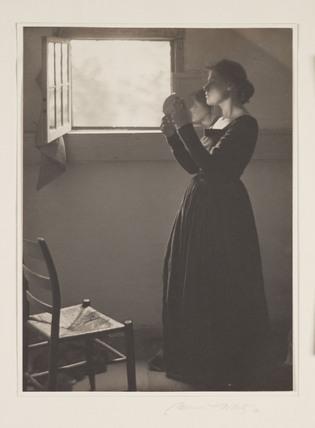 The Mirror', 1912.