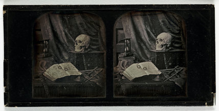 'Nature Mort' or 'The Sands of Time', c 1855.