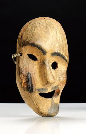 Inuit spirit mask, Alaska.