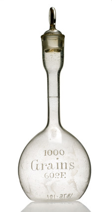 Regnault's specific gravity bottle, 19th century.