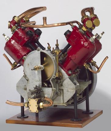 Ader petrol engine, 1903.