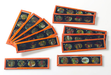 Child's magic lantern slides, German, 1913-1920.