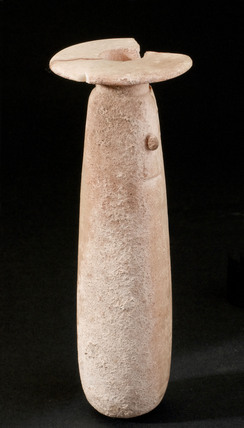 Alabaster phial, 5th century BC.