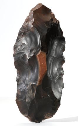 Flint handaxe, Egypt, Neolithic, 9000-2700 BC.